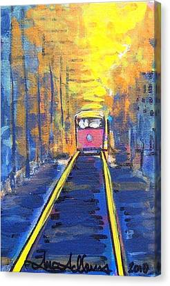 New Orleans Streetcar Canvas Print by Mitchell McClenney