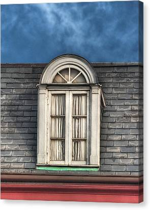 New Orleans Window Canvas Print by Brenda Bryant