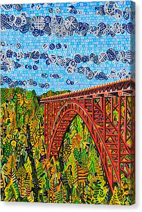 New River Gorge Canvas Print by Micah Mullen