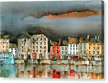 New Ross Quays Wexford Canvas Print