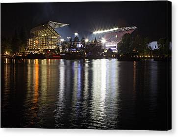 New Husky Stadium Reflection Canvas Print