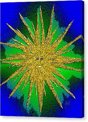 New Star Canvas Print by Michele Avanti