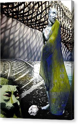 New String Theory Canvas Print by Maria Jesus Hernandez