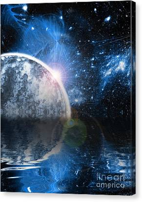 Deep Space Canvas Print - New World by Martin Capek