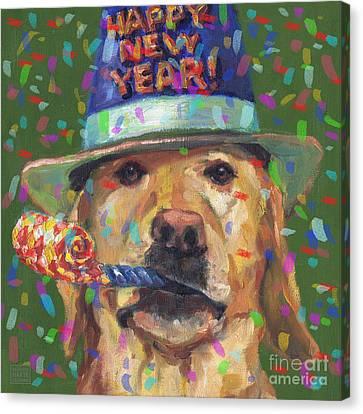 New Year Lab Canvas Print