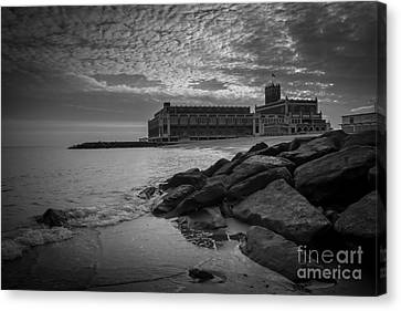 New Years Day In Asbury Park Canvas Print