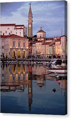 New Years Day Piran Canvas Print