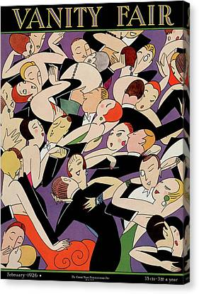 New Years Revelers Canvas Print by A. H. Fish