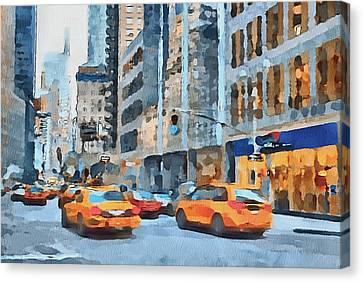 New York 2 Canvas Print by Yury Malkov