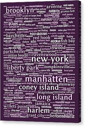 New York 20130709bwma Canvas Print