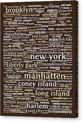 New York 20130709bwwa85 Canvas Print