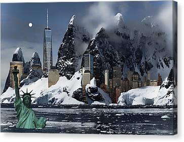 New York 3012 Canvas Print by Daniel Hagerman