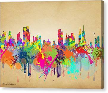 New York 5 Canvas Print by Mark Ashkenazi