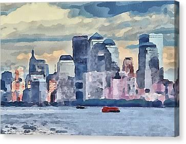 New York 7 Canvas Print by Yury Malkov