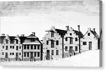 New York Albany, 1791 Canvas Print by Granger