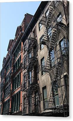 New York Apartments  Canvas Print