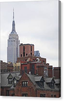 Brick Walls Canvas Print - New York Buttes by Rona Black