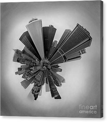 New York Circagraph 5 Canvas Print by Az Jackson