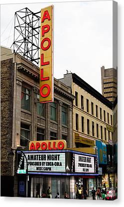 Apollo Theater Canvas Print - New York City - Apollo Theater  by Russell Mancuso