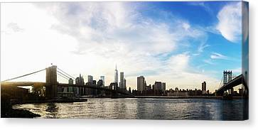 New York City Bridges Canvas Print by Nicklas Gustafsson