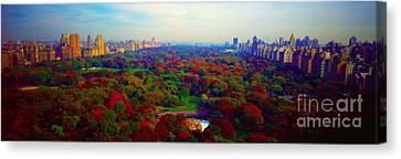New York City Central Park South Canvas Print