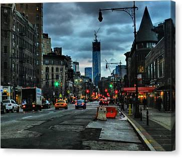 New York City - Greenwich Village 014 Canvas Print by Lance Vaughn