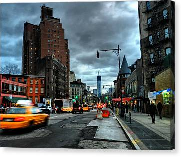 New York City - Greenwich Village 015 Canvas Print by Lance Vaughn