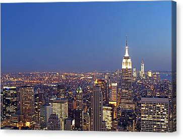 New York City Canvas Print by Juergen Roth