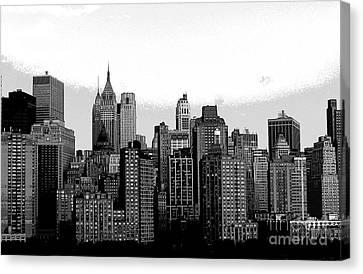 New York City Canvas Print by Kathleen Struckle