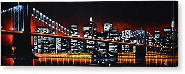 New York City Panaroma Canvas Print