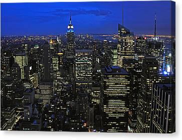 New York City Canvas Print by Paul Van Baardwijk
