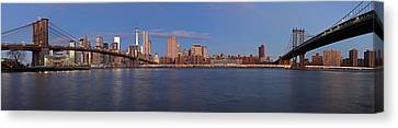 New York City Skyline Panorama Canvas Print by Juergen Roth