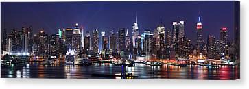 New York City Skyline Panorama Canvas Print