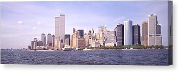 New York City Skyline Panoramic Canvas Print by Mike McGlothlen
