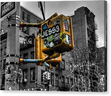 New York City - Soho 004 Canvas Print by Lance Vaughn