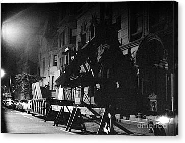 Canvas Print featuring the photograph New York City Street by Steven Macanka
