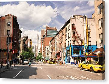 New York City - Summer Afternoon Canvas Print