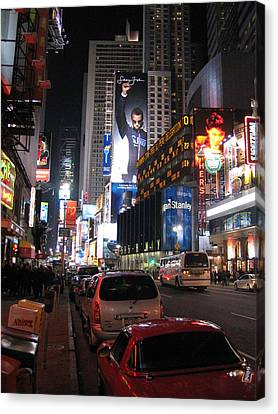 New York City - Times Square - 121224 Canvas Print by DC Photographer