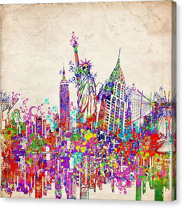 New York City Tribute 2 Canvas Print