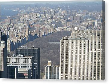 New York City - View From Empire State Building - 121211 Canvas Print by DC Photographer