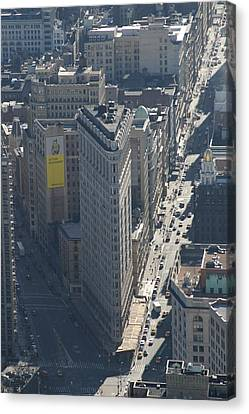 New York City - View From Empire State Building - 121225 Canvas Print