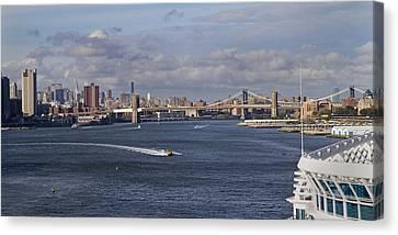 New York Cruising  Canvas Print