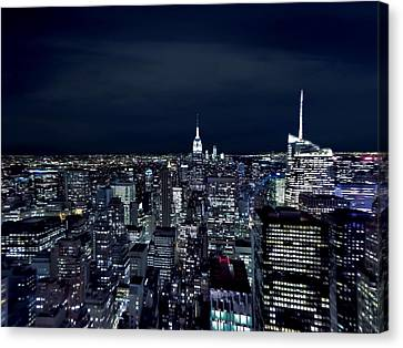 New York Evening Canvas Print