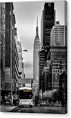 New York Express Canvas Print by Az Jackson