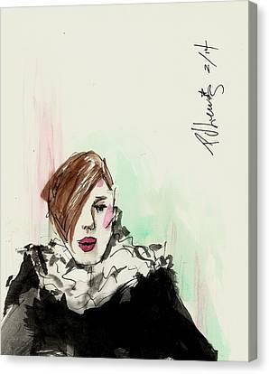 New York Fashion Week Canvas Print by P J Lewis