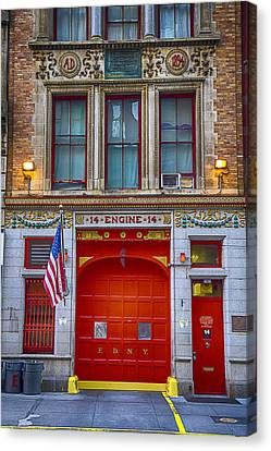 New York Fire Station Canvas Print