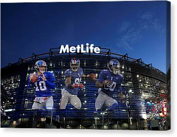 New York Giants Metlife Stadium Canvas Print by Joe Hamilton