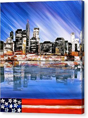 New York Canvas Print by Heather Matthews