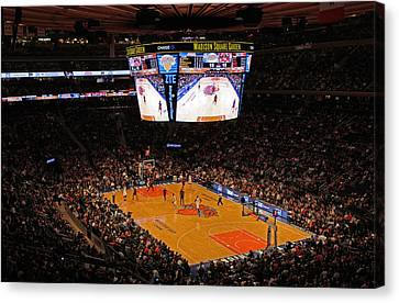 New York Knickerbockers Canvas Print by Juergen Roth
