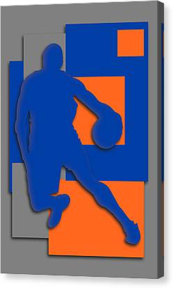 New York Knicks Art Canvas Print by Joe Hamilton